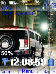 Hummer Theme-Screenshot