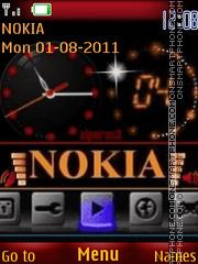 Capture d'écran Nokia thème