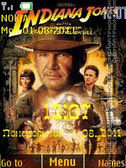 Indiana Jones theme screenshot