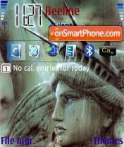 America theme screenshot