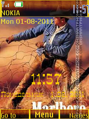 Cowboy tema screenshot
