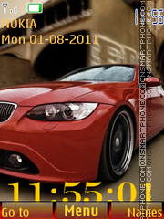 Car and Clock tema screenshot