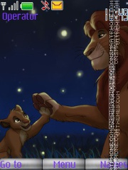 Simba theme screenshot
