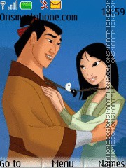 Mulan tema screenshot
