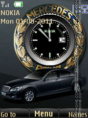 For Enthusiasts Mercedes By ROMB39 theme screenshot