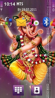 Ganesha 04 es el tema de pantalla