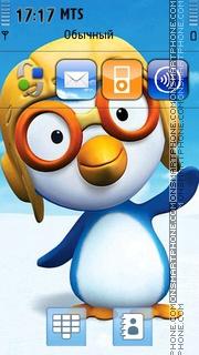 Скриншот темы Pororo - Little Penguin