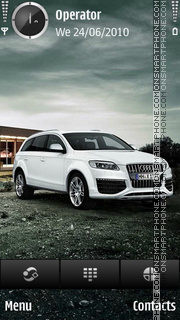 AUDI Q7 theme screenshot