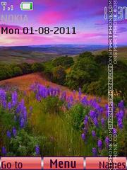 Скриншот темы Pink Sunset