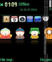 South Park 13 theme screenshot
