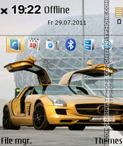 Mercedes Sls Amg 01 theme screenshot