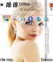 Mena Suvari 01 theme screenshot