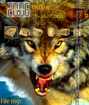 Wolf 09 theme screenshot