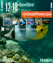 Underwater 01 theme screenshot