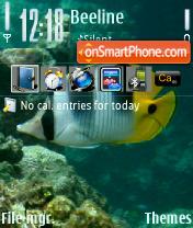 Скриншот темы Underwater 01