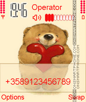 Capture d'écran Teddy thème