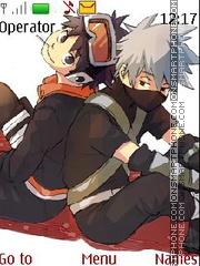 Obito N Kakashi theme screenshot