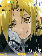 Elric Brothers theme screenshot
