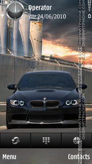Bmw m3 black theme screenshot