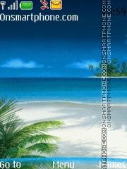 Nature Beach 01 theme screenshot