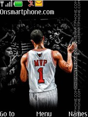 Derrick Rose theme screenshot
