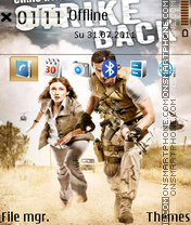 Strike Back theme screenshot