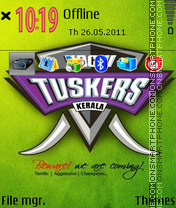Kochi Tuskers theme screenshot