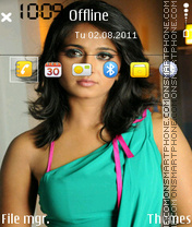 Anushka Shetty 02 theme screenshot