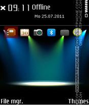 Lighting Scene 01 theme screenshot