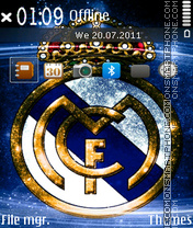 Real Madrid 2029 theme screenshot