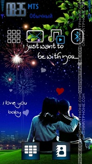 Be With You 01 es el tema de pantalla
