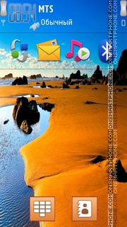 Cool Paradise 01 theme screenshot