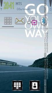 Your Way theme screenshot