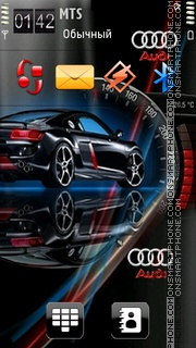 Audi 23 theme screenshot