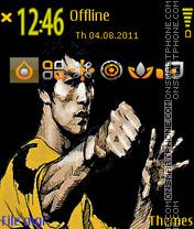 Скриншот темы Bruce Lee