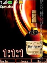 Hennessy swf theme screenshot