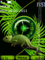 Monitor lizard theme screenshot