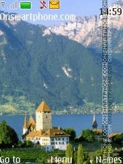Swiss Alps theme screenshot