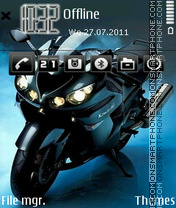 Kawaski Beast theme screenshot