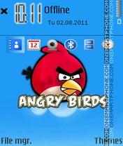 Angry Bird 02 es el tema de pantalla