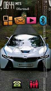 Bmw vision s60 5th theme screenshot