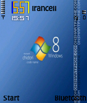 Windows 8 es el tema de pantalla