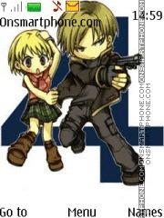 Resident Evil By SPACE 95 es el tema de pantalla