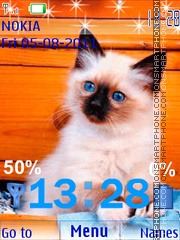 My Little Cat es el tema de pantalla