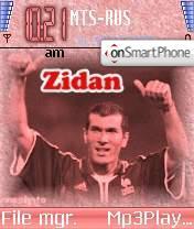 Zidan 01 theme screenshot
