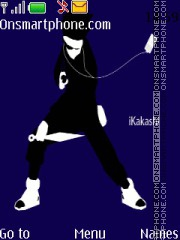 Kakashi Hatake Ipod theme screenshot