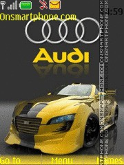 Audi 24 theme screenshot