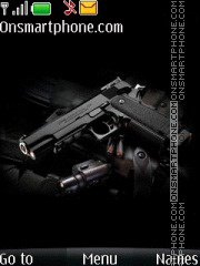 Gun With Tone theme screenshot