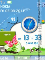 Happy Life 01 theme screenshot