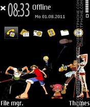 One Piece 09 theme screenshot